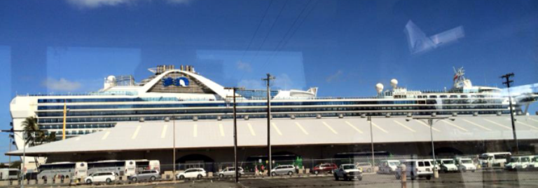 Grand Princess @ Pier 2 - Arrival - Aloha Cruise Group