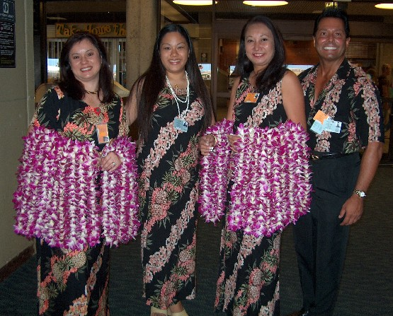 AIRPORT LEI GREETING - ON ALL MAJOR HAWAIIAN ISLANDS