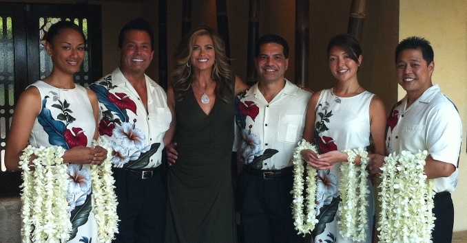 Leis Of Hawaii & Kathy Ireland ~ Hawaiian Weddings