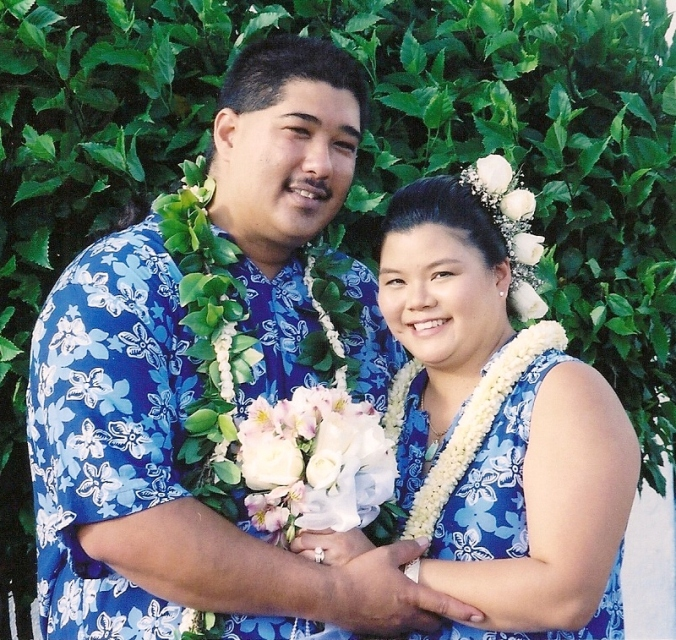 Congradulation ~ Mr.  Mrs. Allvaro ~ Thank you for putting your trust in us. From The Staff Of LEIS OF HAWAII